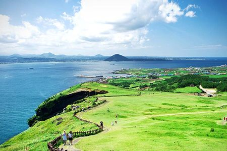 韩国济州岛4日半自助游>1天自由人 碳酸温泉 纯玩只