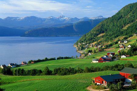 瑞典风景桌面背景