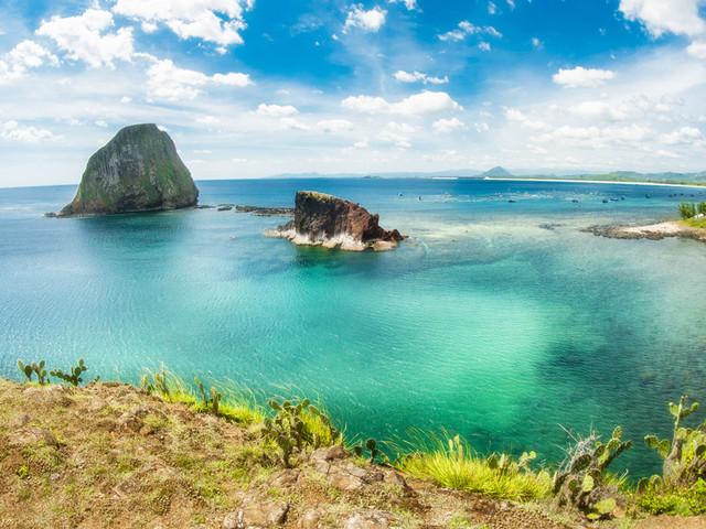 燕岛——一半热水一半冷水