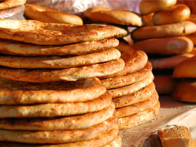 新疆美食-烤馕