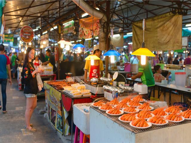 普吉岛夜市——马林市场